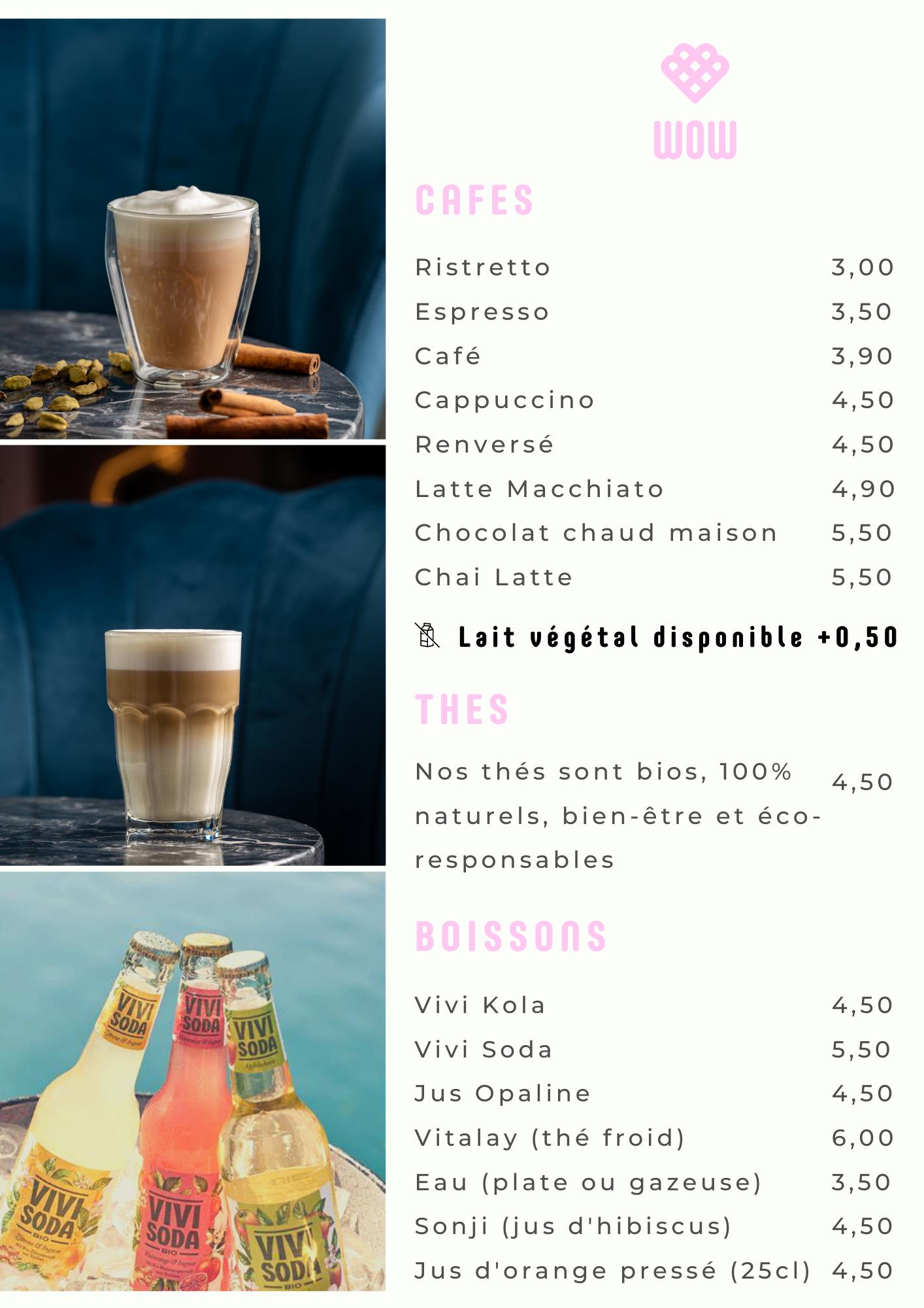 Café , Chai Latte